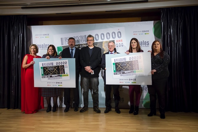La 34 edición de los Premios Goya protagoniza 5,5 millones de cupones de la ONCE