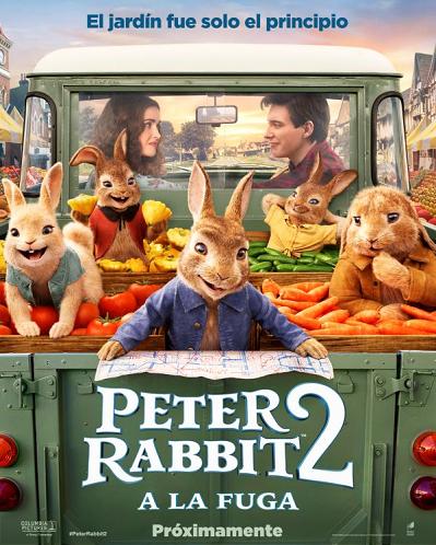 'Peter Rabbit 2': A la fuga' salta a las pantallas el 3 de abril