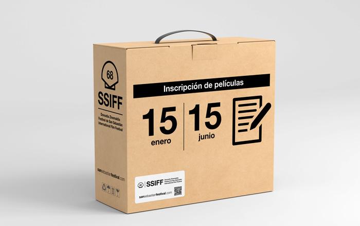 Ya está abierta la inscripción online de películas para la 68 edición del Festival de San Sebastián