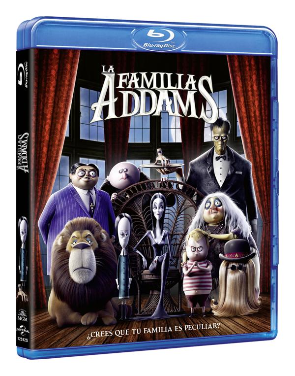 ¿Crees que tu familia es rarita? 'La Familia Addams', ya a la venta en DVD y Blu-ray