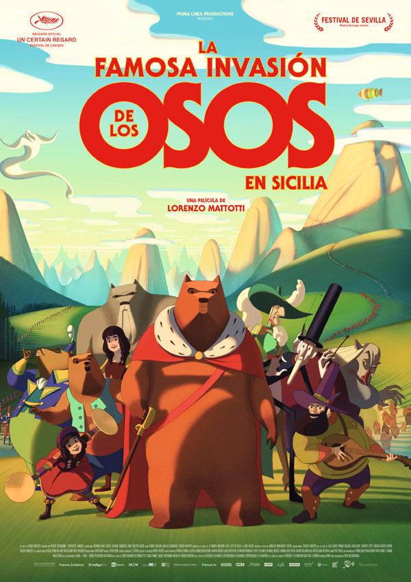 'La Famosa Invasión de los Osos en Sicilia': Una fábula animada sobre la corrupción del poder