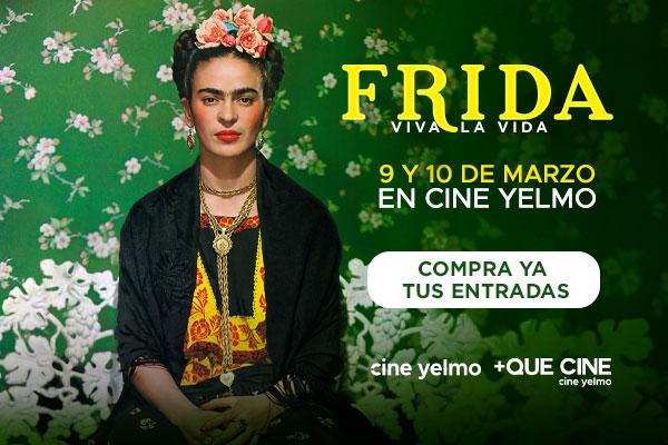 Cine Yelmo proyecta el 9 y 10 de marzo 'Frida. Viva la vida'
