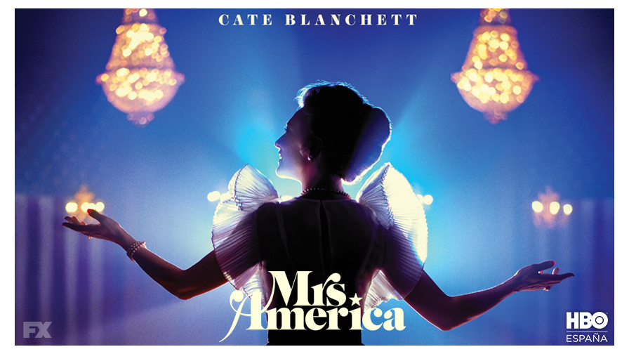 'Mrs. America', protagonizada por Cate Blanchett, llega el 15 de Abril
