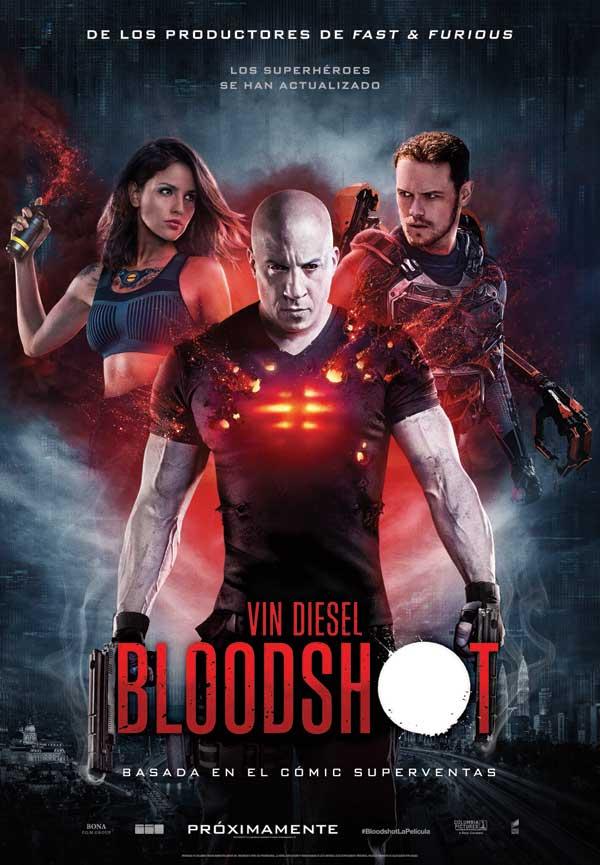 'Bloodshot': Buen intento, Vin Diesel