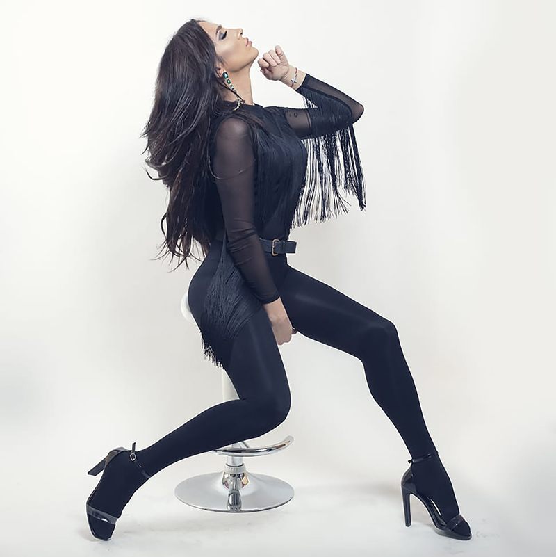 Lara Martorell da vida a 'La Fany' en 'Veneno'