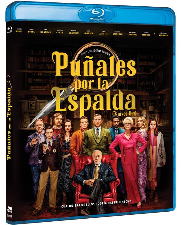 Que no te la den por detrás, 'Puñales por la Espalda' ya a la venta en DVD y Blu-ray