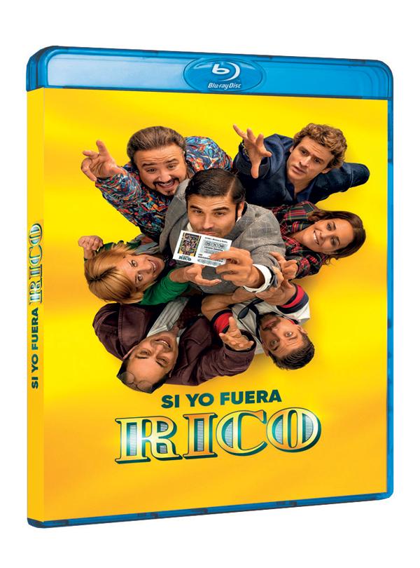 'Si Yo Fuera Rico' disponible en DVD y Blu-ray a partir del miércoles 25 de marzo
