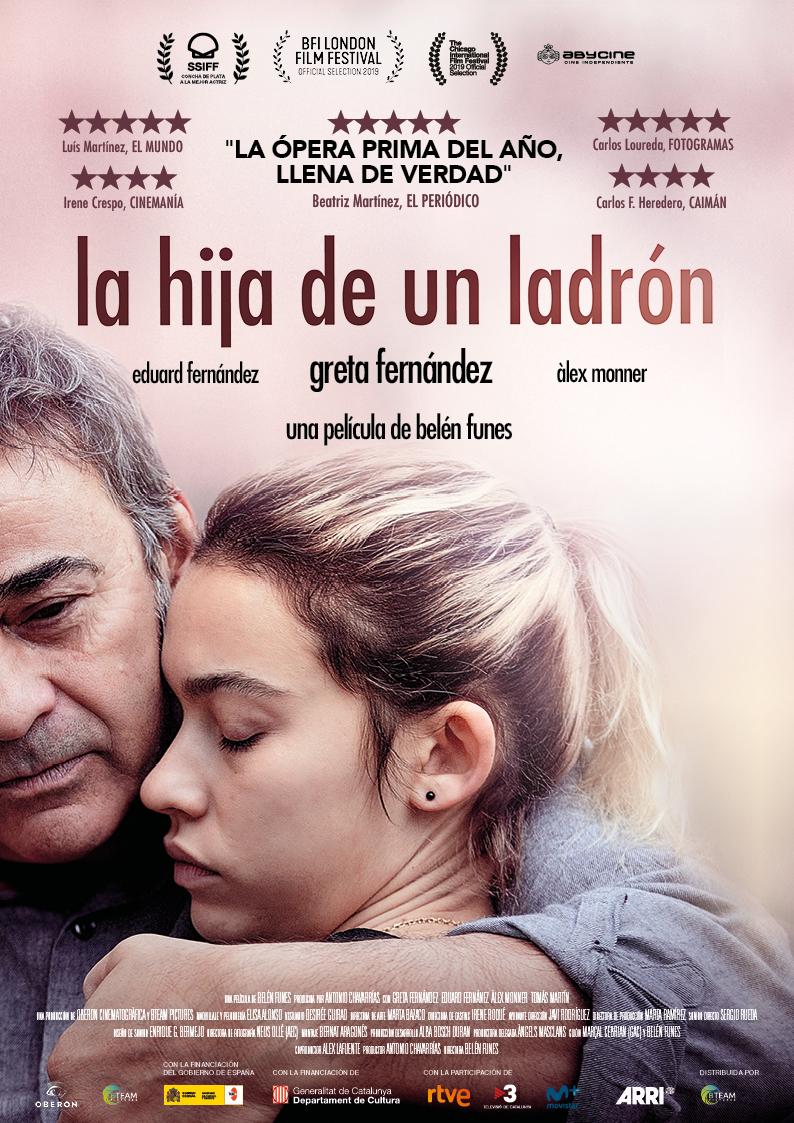'La Hija de un Ladrón' disponible desde hoy en plataformas VOD