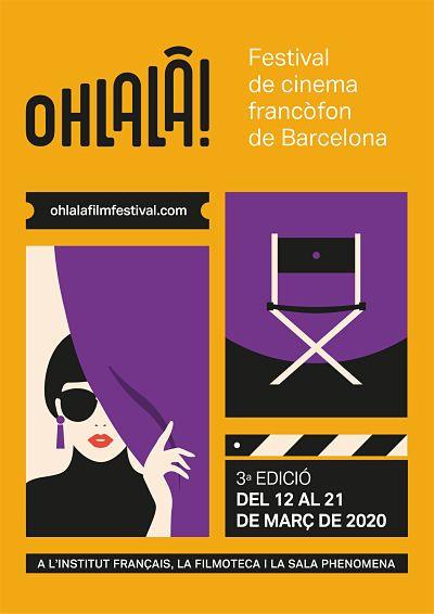 OHLALÀ! Festival de cine francófono de Barcelona aplaza su celebración hasta octubre