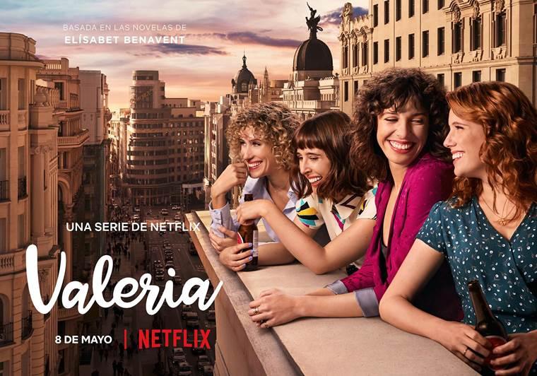 'Valeria' llega el 8 de mayo a Netflix