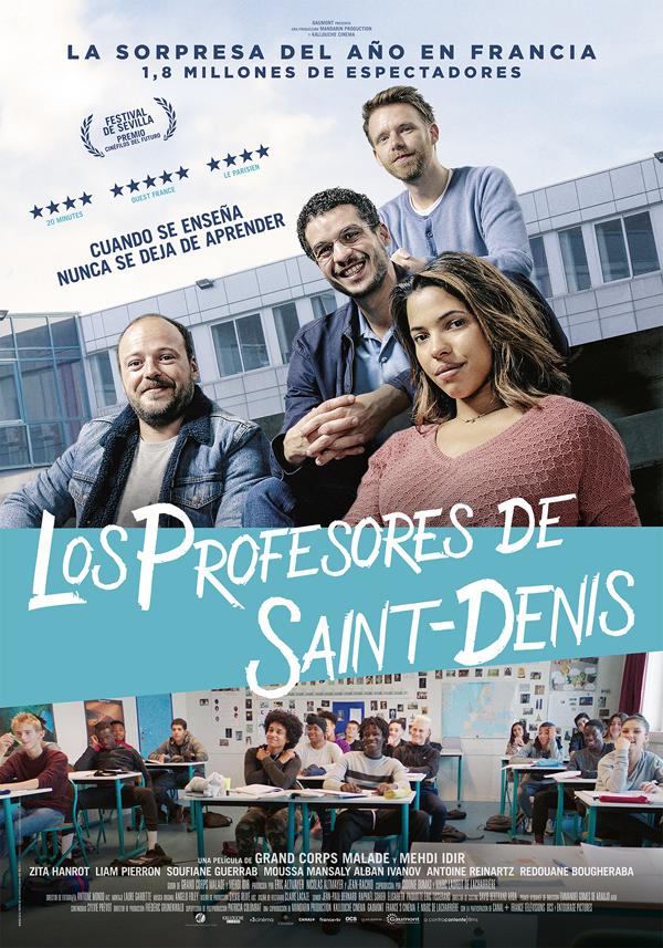 'Los Profesores de Saint-Denis': vida cotidiana de una escuela pública francesa