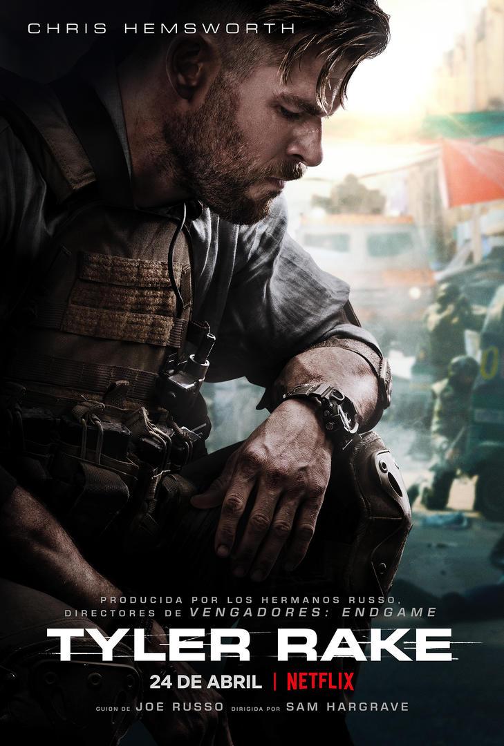 'Tyler Rake' llega el 24 de abril a Netflix