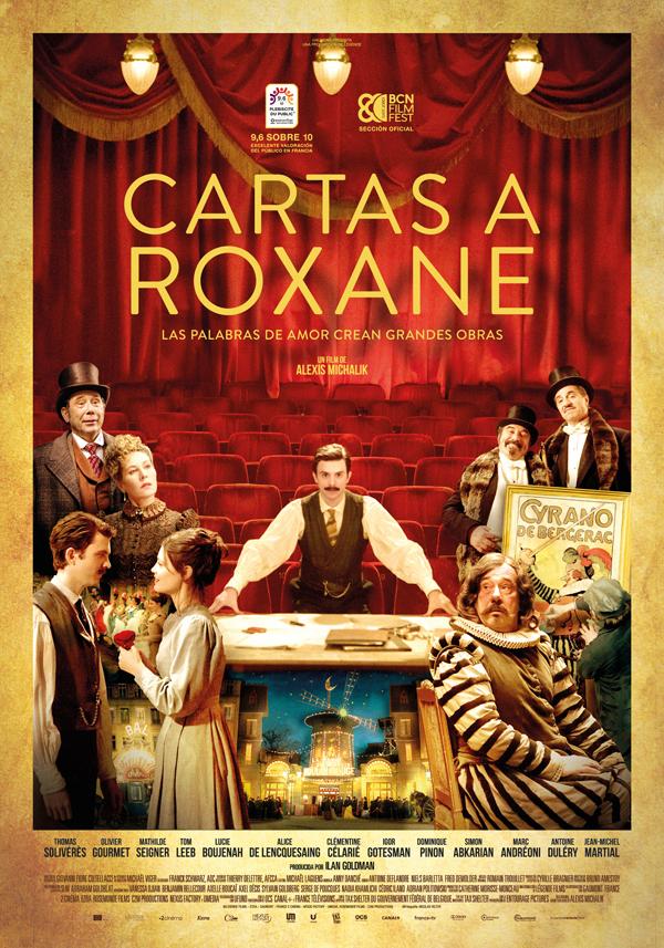 'Cartas a Roxane': Encantadora y divertida epístola de amor del séptimo arte al teatro