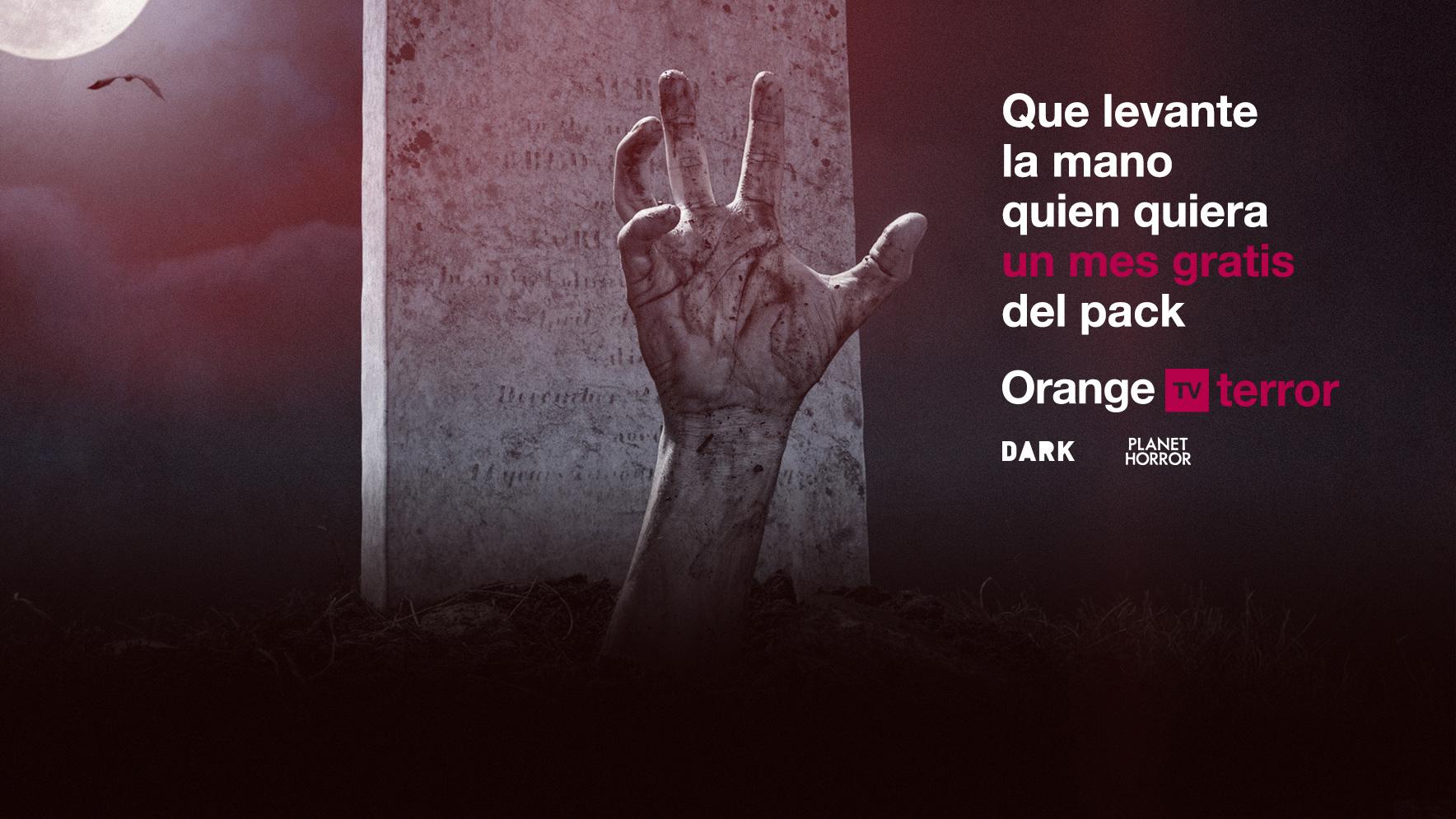 Orange TV lanza Terror, un nuevo paquete premium integrado por DARK y Planet Horror para los fans del miedo en estado puro
