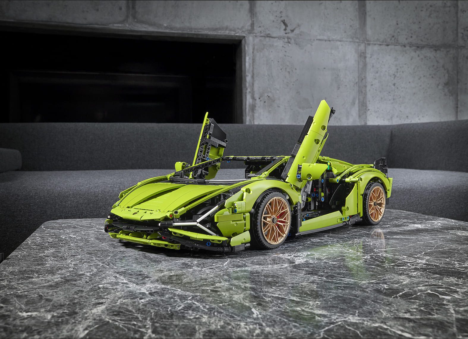 LEGO desvela el Lamborghini Sián FKP 37 de LEGO Technic
