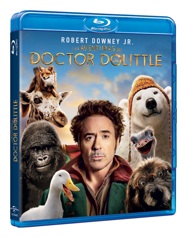 'Las Aventuras del Doctor Doolitle', ya en DVD, Blu-ray y 4K UHD
