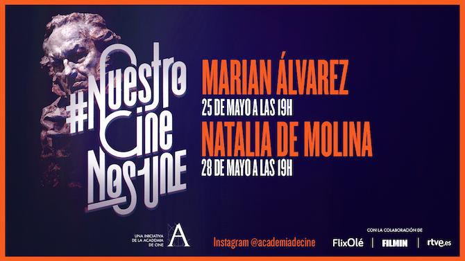 Marian Álvarez y Natalia de Molina, en #NuestroCineNosUne