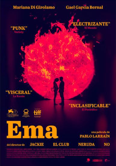 'Ema' de Pablo Larraín llega hoy a plataformas digitales