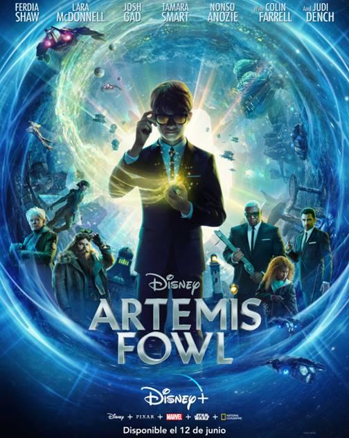 'Artemis Fowl' se estrena en exclusiva próximo 12 de junio en Disney +