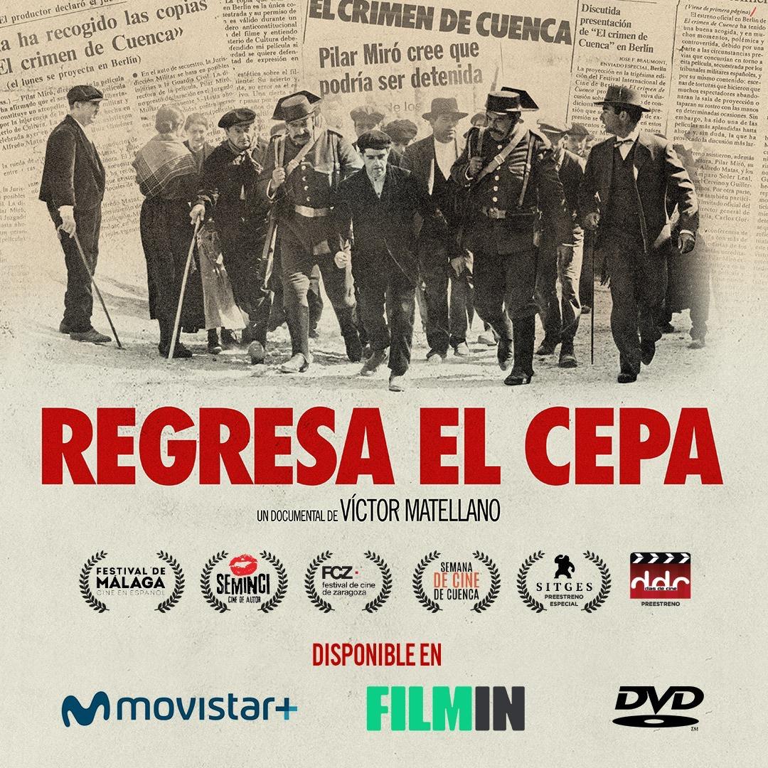 'Regresa el Cepa' ya está disponible en Filmin y Movistar +