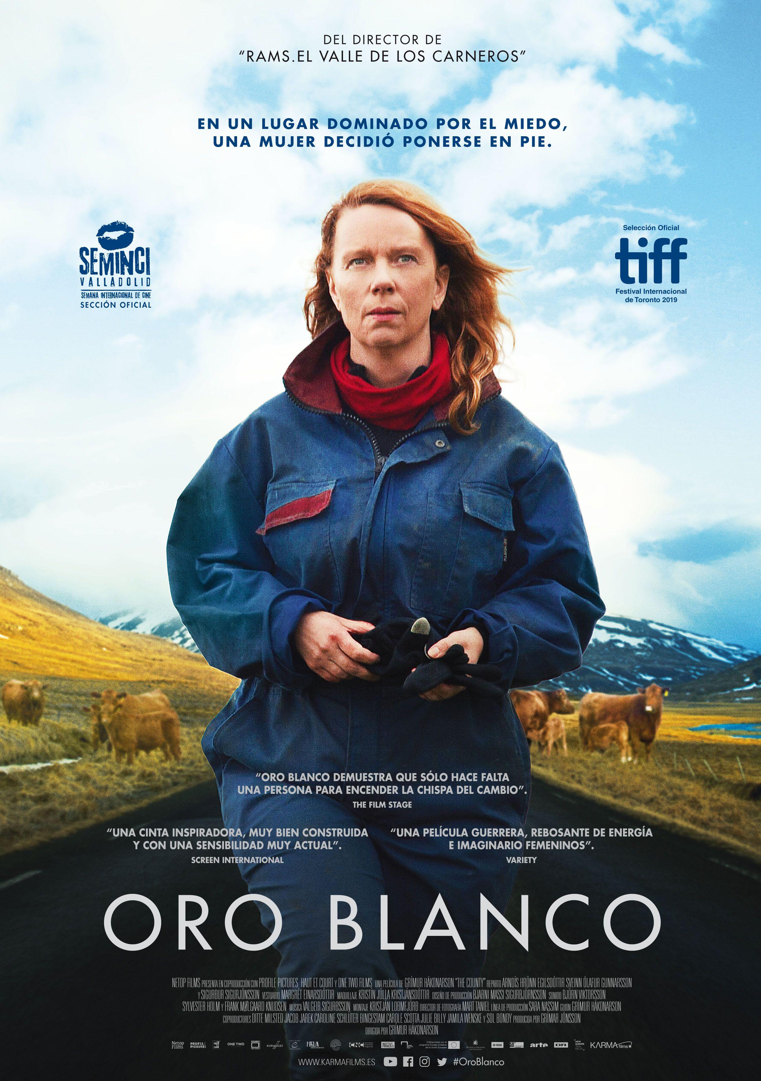 El 26 de junio se estrena en cines 'Oro Blanco' de Grímur Hákonarson