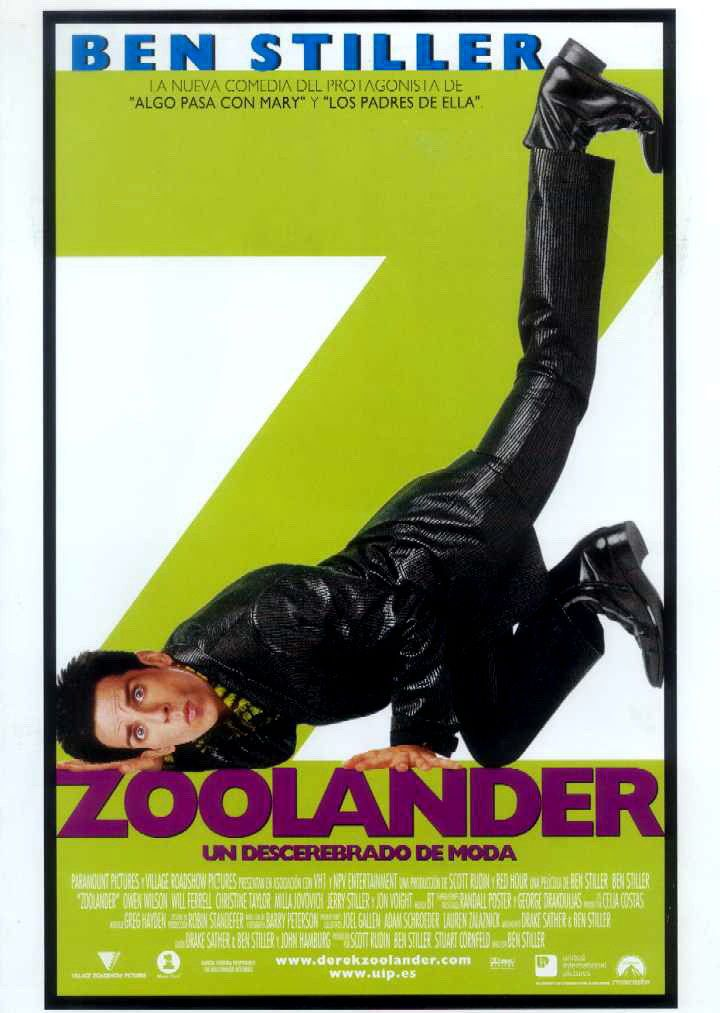 Disparatado Treintañero: 'Zoolander'