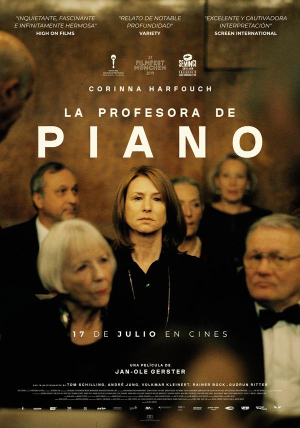 """'La profesora de piano': """"Mucha gente tiene talento"""""""