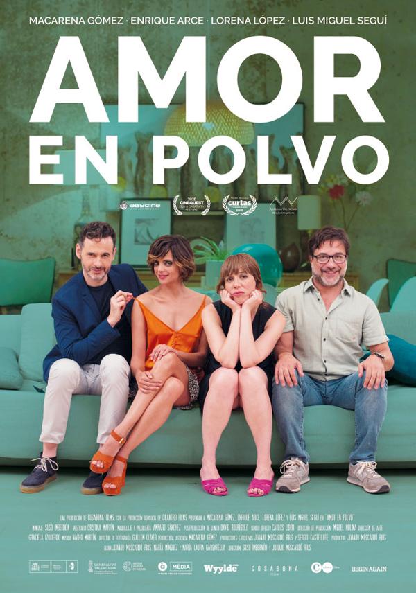 """Juanjo Moscardó y Suso Imbernón: """"Amor en Polvo es una historia cercana y diaria""""."""