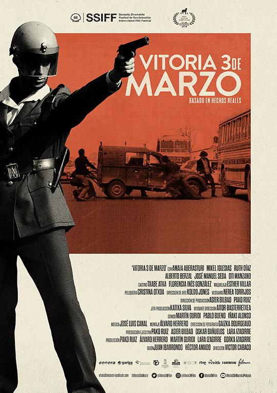 'Vitoria 3 de Marzo' consigue cuatro premios en el Puglia International Film Festival