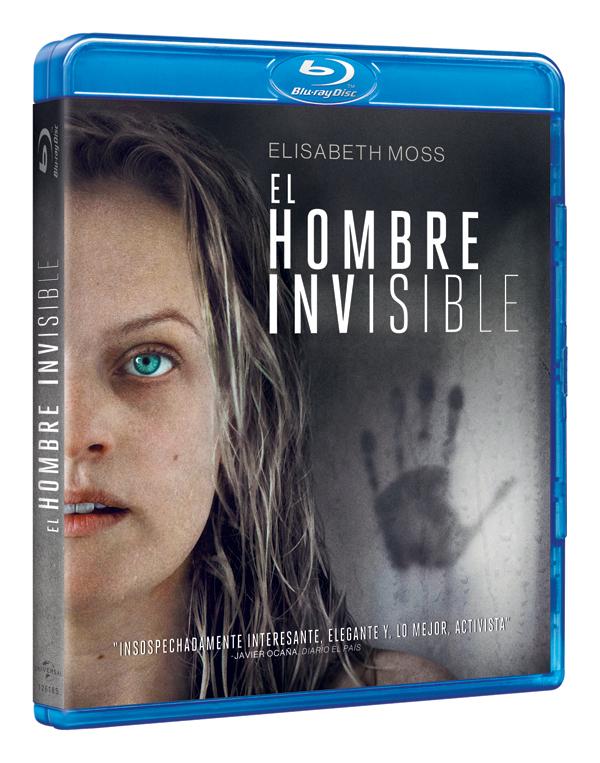'El Hombre Invisible', ya a la venta en DVD, Blu-ray, y 4K UHD