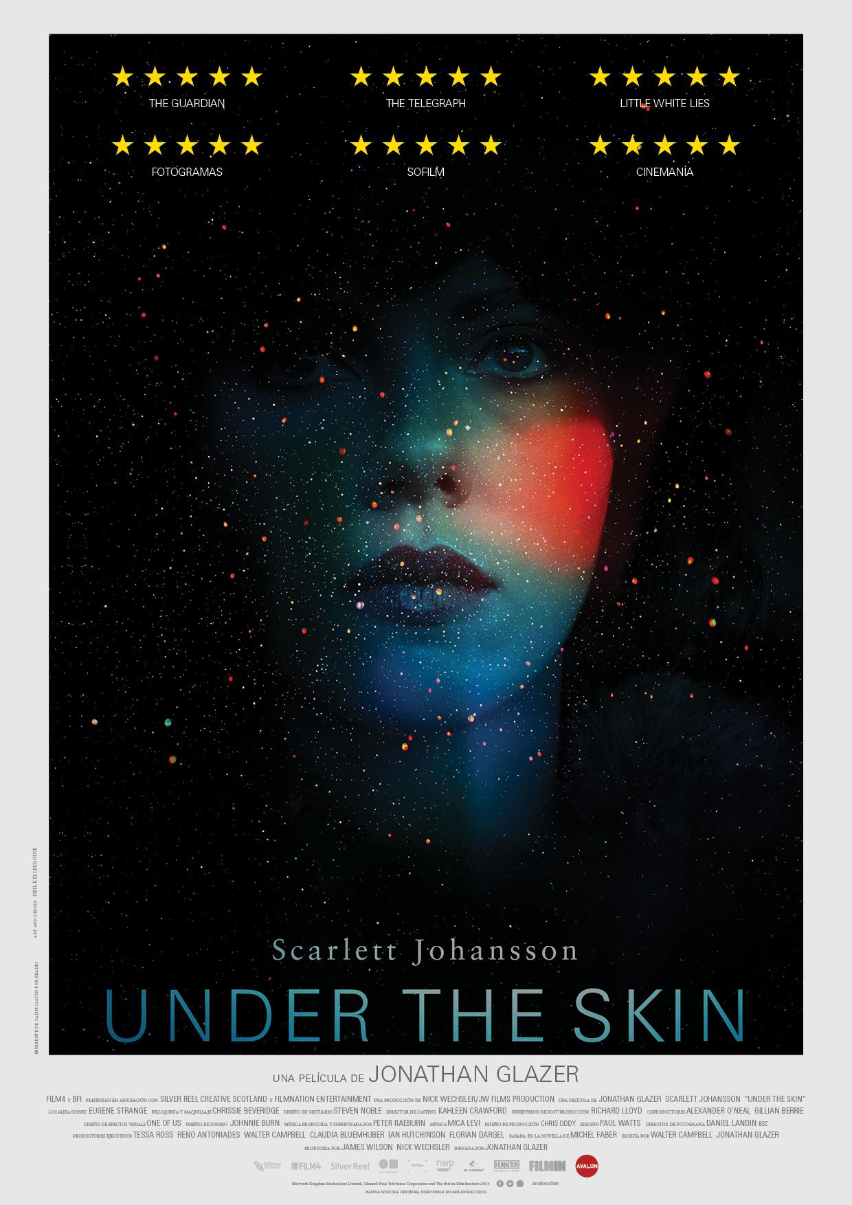 'Under the skin': ¿Quiénes somos?