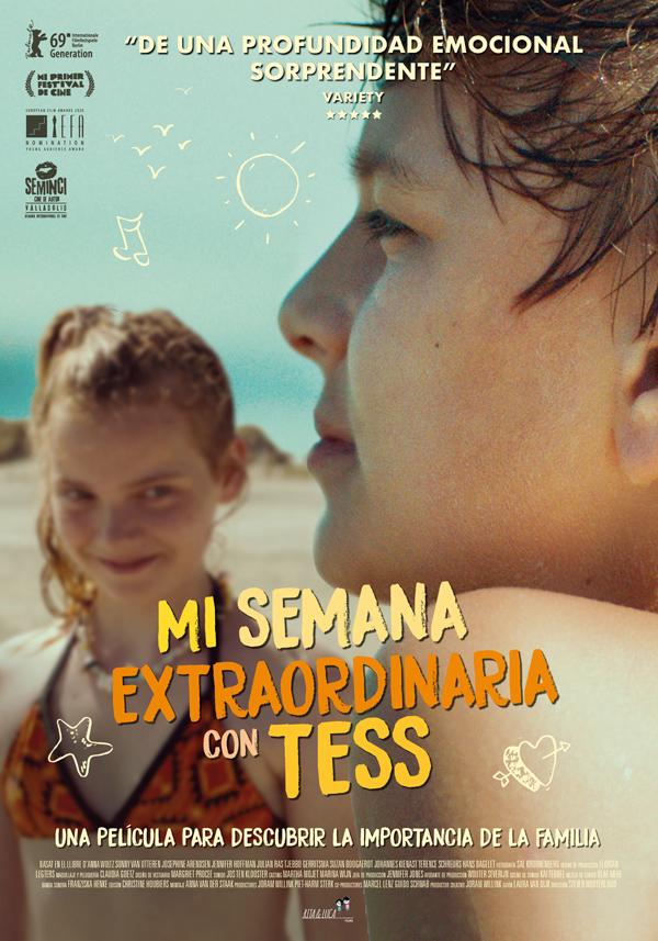 'Mi semana extraordinaria con Tess': Sam en la playa