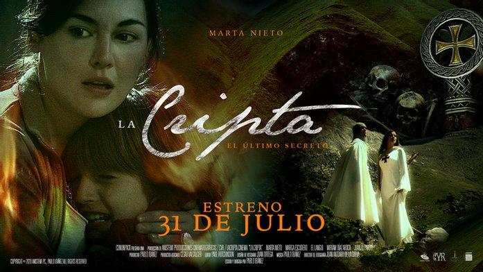 Marta Nieto protagoniza 'La Cripta, el último secreto'