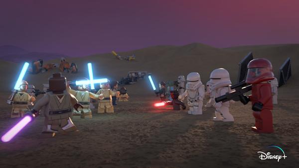 'The Lego Star Wars Holiday Special' llega el 17 de noviembre a Disney +