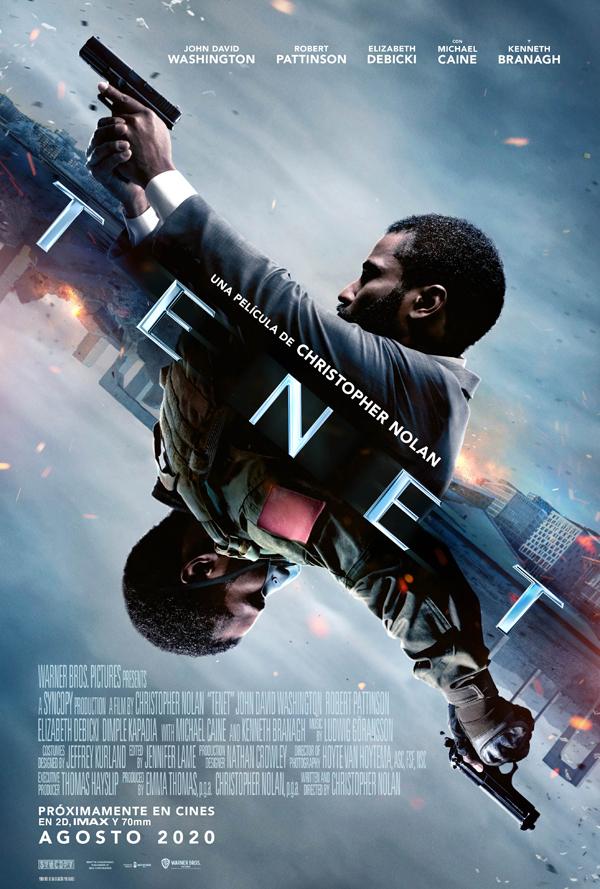 'Tenet': El fin del mundo, por Christopher Nolan