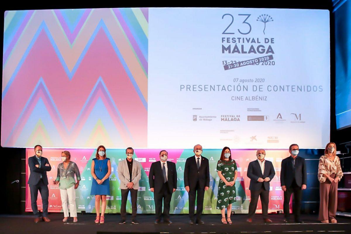 Festival de Málaga presenta los contenidos de su 23 edición, del 21 al 30 de agosto de 2020