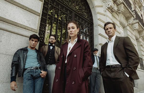 Comienza el rodaje de 'Jaguar', la nueva serie de Netflix protagonizada por Blanca Suárez