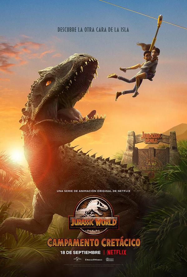 'Jurassic World: Campamento Cretácico': el universo se expande
