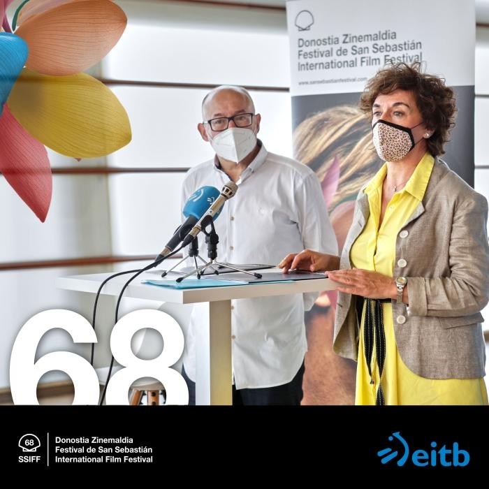 EiTB renueva un año más su compromiso con el Festival de San Sebastián
