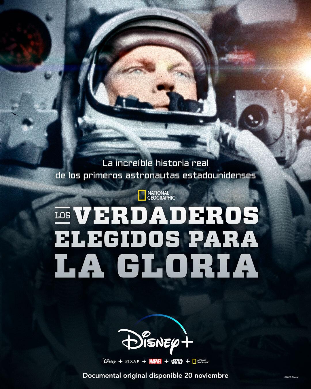 'Los verdaderos elegidos para la Gloria' llegan a Disney + el 20 de noviembre