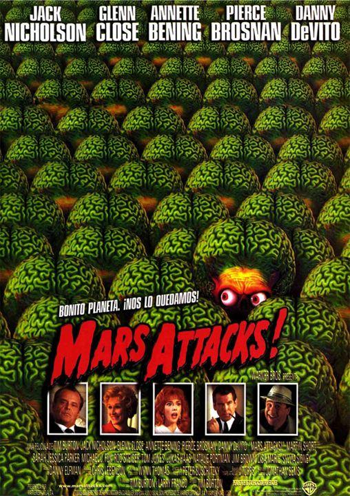 Disparatado Treintañero: 'Mars Attack'