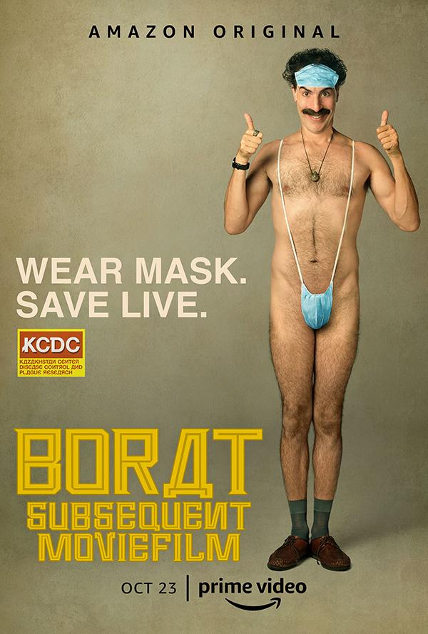 'Borat 2': Lo irreverente, el mejor virus de la risa