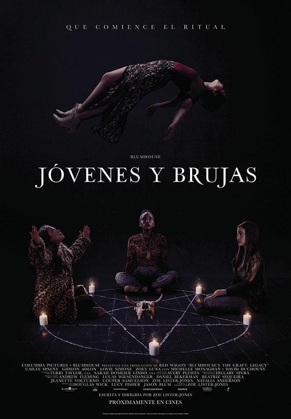 'Jóvenes y Brujas': el remake de la película de culto de los años 90