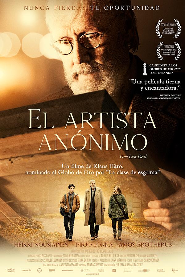 'El artista anónimo': Un último trazo