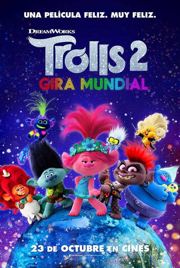 'Trolls 2 Gira Mundial': ¡Qué la música no deje de sonar en esta película que apuesta por la tolerancia y la diversidad!