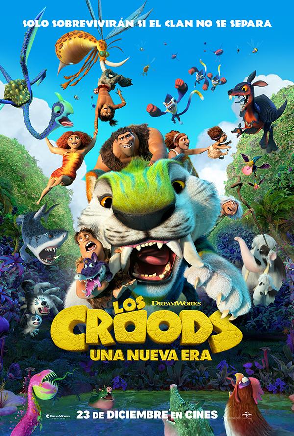 Anna Castillo y Raúl Arévalo ponen sus voces a 'Los Croods: Una nueva Era'