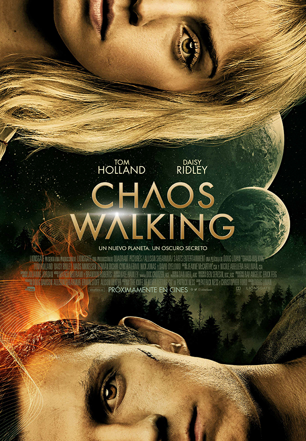 'Chaos Walking', con Tom Holland y Daisy Ridley se estrenará en 2021