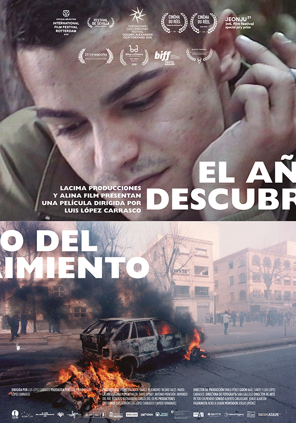 'El Año del Descubrimiento' compite en Sección Oficial en Festival Cinematográfico de Uruguay
