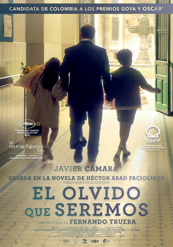 'El olvido que seremos' de Fernando Trueba en cines a partir del 12 de marzo