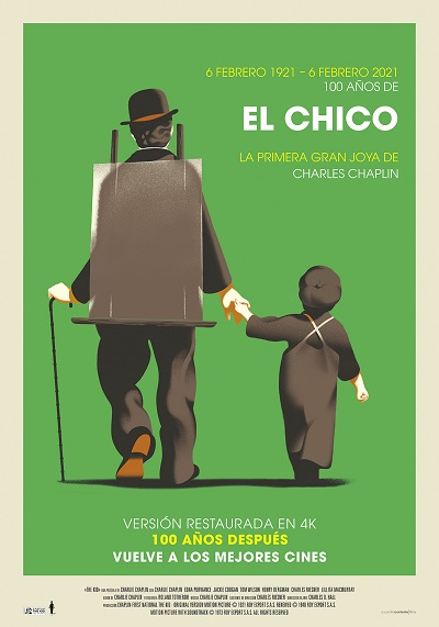 'El Chico' de Charles Chaplin, vuelve a los cines el 5 de febrero